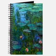 monet nymphea lily pond giverny Journal