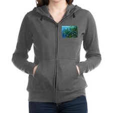 monet nymphea lily pond giverny Women's Zip Hoodie