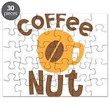 Coffee NUT with cute orange mug Puzzle