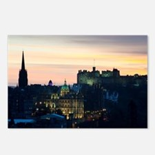 View of Edinburgh Castle  Postcards (Package of 8)