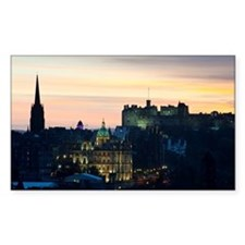 View of Edinburgh Castle at ni Decal