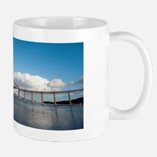forth bridge wideangle Mug