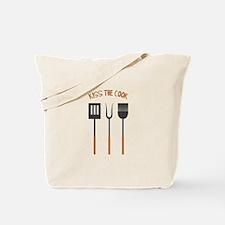 KISS THE COOK Tote Bag