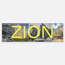 ABH Zion Bumper Bumper Sticker