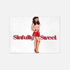 SinfullySweetTrans2.png 5'x7'Area Rug