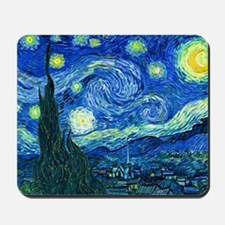 van gogh starry night Mousepad
