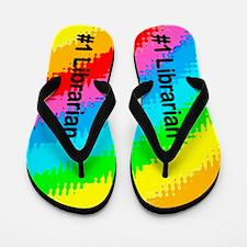 Color Librarian Flip Flops