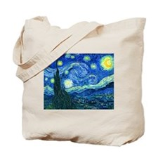 van gogh starry night Tote Bag
