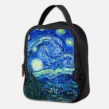 van gogh starry night Neoprene Lunch Bag