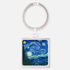 van gogh starry night Keychains