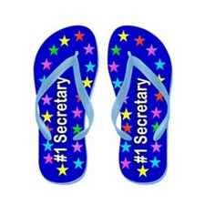 Secretary Queen Flip Flops