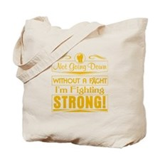 Appendix Cancer Fighting Strong Tote Bag