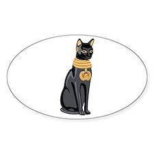 Egyptian Cat God Bastet Decal