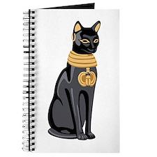 Egyptian Cat God Bastet Journal