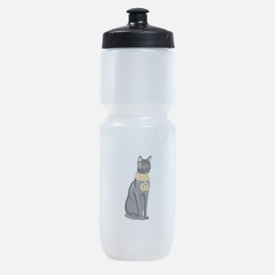 Egyptian Cat God Bastet Sports Bottle
