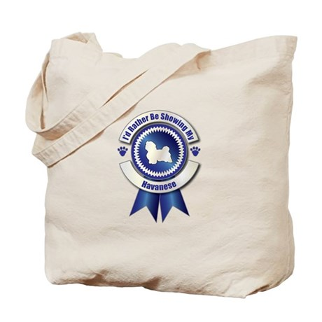 Showing Havanese Tote Bag
