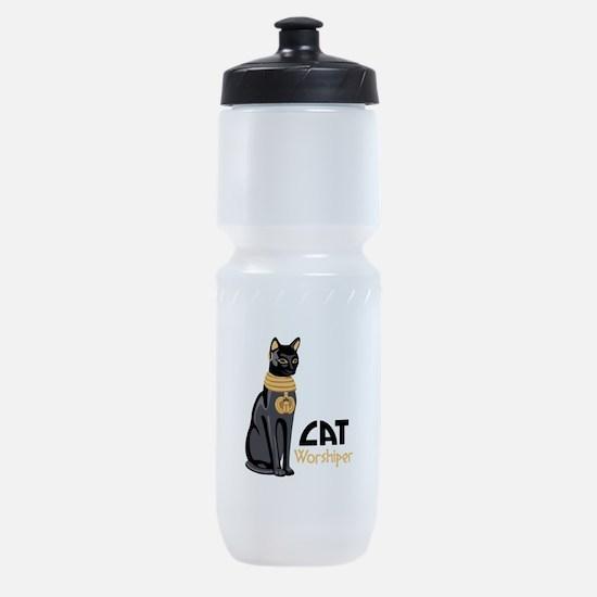CAT Worshiper Sports Bottle
