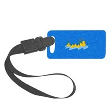 Rubber Ducky Family Outing Luggage Tag