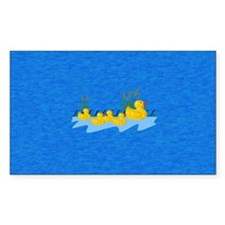 Rubber Ducky Family Outing Decal