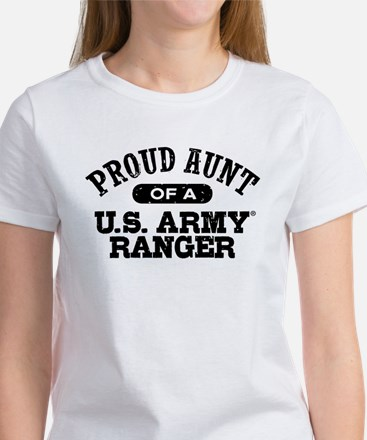 Army Ranger Aunt Women's T-Shirt