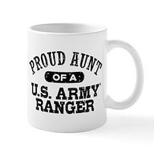 Army Ranger Aunt Small Mug