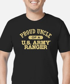 Army Ranger Uncle Men's Fitted T-Shirt (dark)