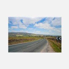 Road in the Yorkshire Dales Rectangle Magnet