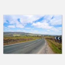 Road in the Yorkshire Dal Postcards (Package of 8)