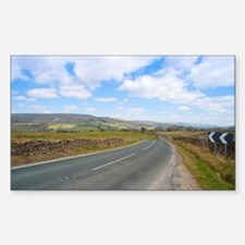 Road in the Yorkshire Dales Decal