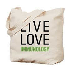 Live Love Immunology Tote Bag