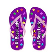 Sweet Boss Lady Flip Flops
