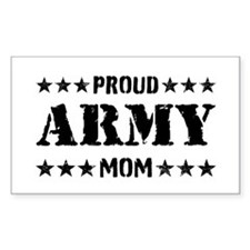 Proud Army Mom [v] Decal
