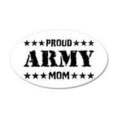 Proud Army Mom [v] Wall Decal