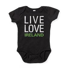 Live Love Ireland Baby Bodysuit