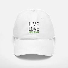 Live Love Ireland Baseball Baseball Cap