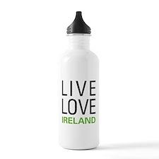 Live Love Ireland Water Bottle