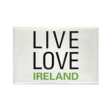 Live Love Ireland Rectangle Magnet