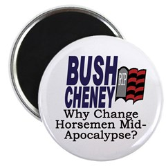 Why Change Horsemen? Magnet (100 pack)
