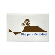 Did You Ride Today? Magnets