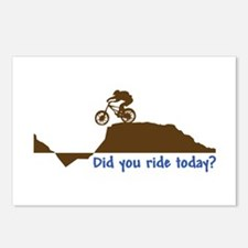 Did You Ride Today? Postcards (Package of 8)