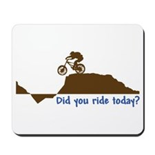 Did You Ride Today? Mousepad
