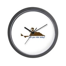 Did You Ride Today? Wall Clock