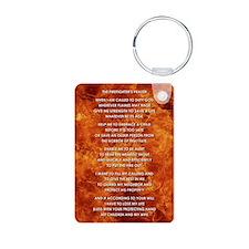 THE FIREFIGHTER'S PRAYER Keychains