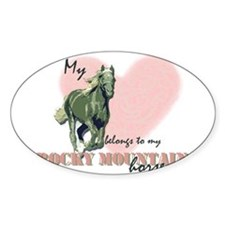 Rocky mountain horse Decal