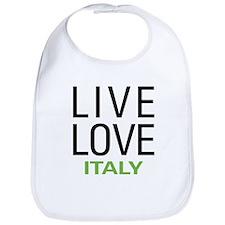 Live Love Italy Bib