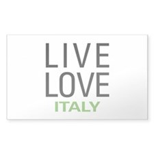Live Love Italy Decal