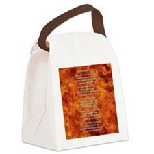 THE FIREFIGHTER'S PRAYER Canvas Lunch Bag