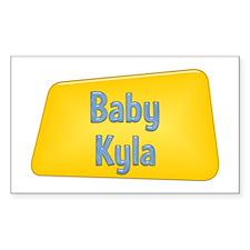 Baby Kyla Rectangle Decal