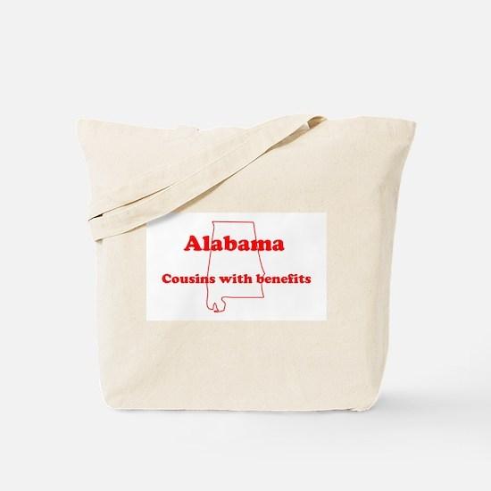 Alabama: Cousins Tote Bag
