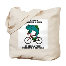 A Woman Without A Man<br>Linkin Mall Tote Bag